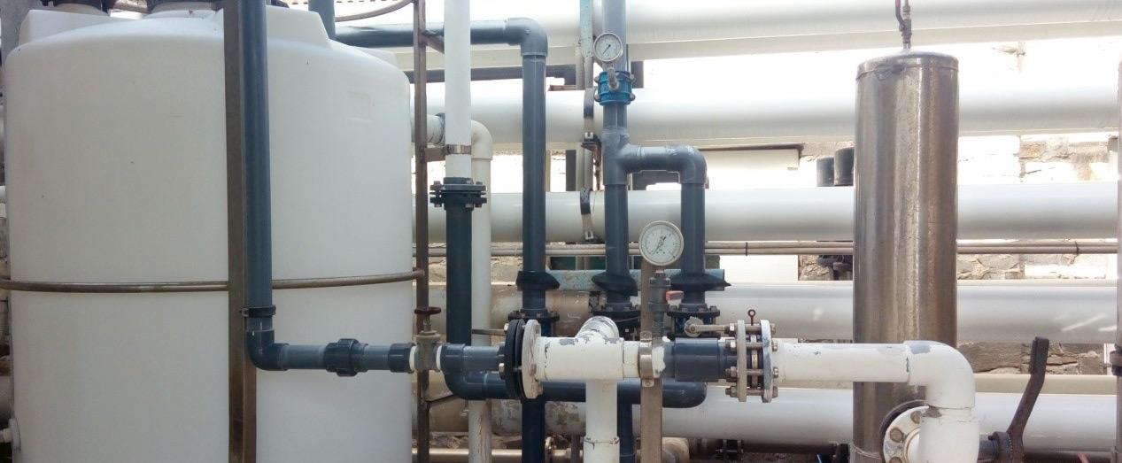 Paros desalination