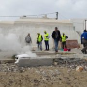 naoussa sewerage innovative clearing