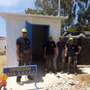 New pumping station in Aspro Chorio