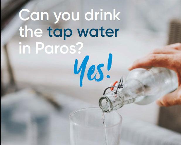 drink tap water on Paros