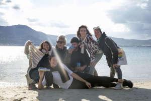 Η ομάδα του Clean Blue Paros